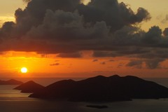 British Virgin Islands, Sunset, Caribbean, Islands